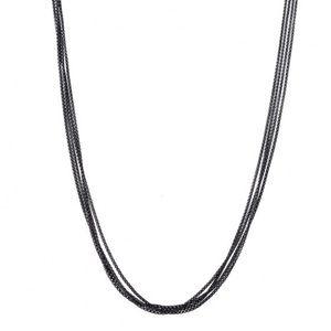 "David Yurman 4 Row Baby Box Chain 17"" Necklace"